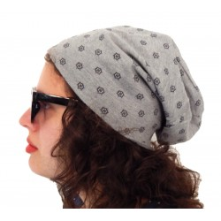 Long Beanie grau  by Ella Jonte