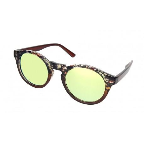 Sonnenbrille braun schwarz