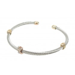 Armband silber gold