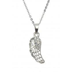 Halskette silber Flügel
