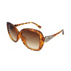Sonnenbrille braun silber