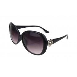 Sonnenbrille schwarz Herz
