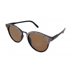 Sonnenbrille schwarz braun