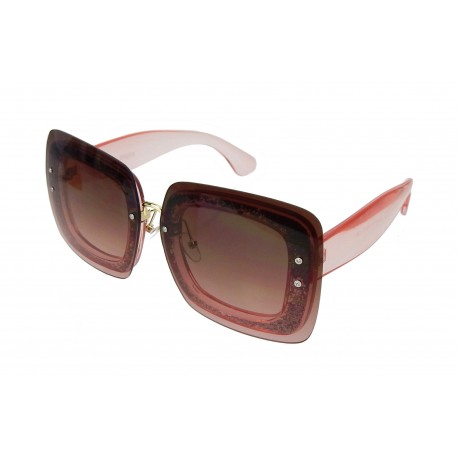 Sonnenbrille braun rosé