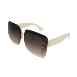 Sonnenbrille braun beige