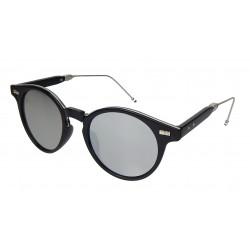 Sonnenbrille schwarz silber