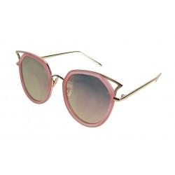 Sonnenbrille rosa gold