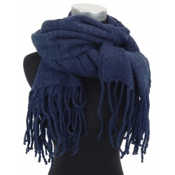 Damenschal blau