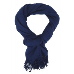 Herrenschal blau Herbst Winterschal