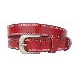Ledergürtel rot