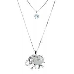 Halskette Elefant silber