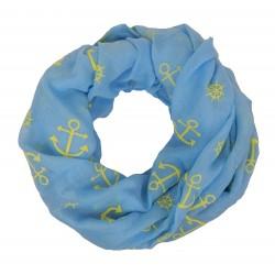 Loop blau Anker