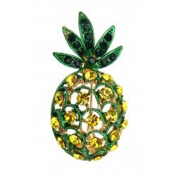 Brosche Ananas