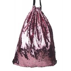 Gymbag Pailletten pink