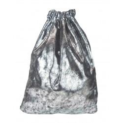 Gymbag silber metallic