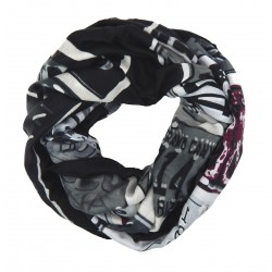 Loop schwarz grau