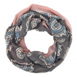 Loop rosa grau