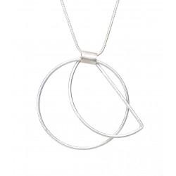 Halskette silber Ring