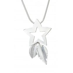 Halskette silber Stern