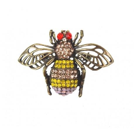 Brosche Biene gold - Ella Jonte 67361896c0