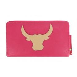 Geldbörse Büffel pink