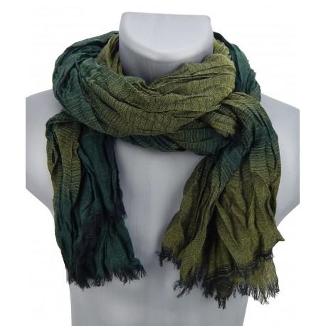 Herrenschal schwarz grün blau braun Schal Ella Jonte