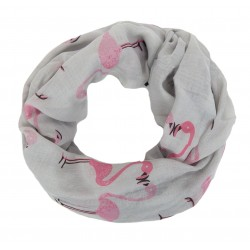 Flamigo Loop grau pink