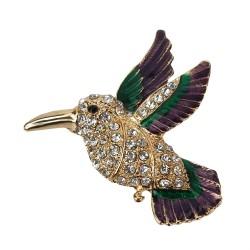 Brosche Vogel