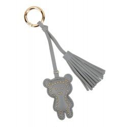 Taschenanhänger Bär Teddy grau