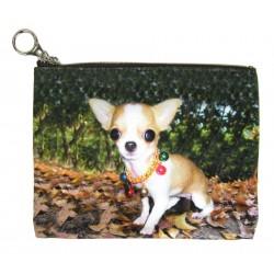 Chiwawa Tasche Chihuahua Schminktasche Kosmetiktasche