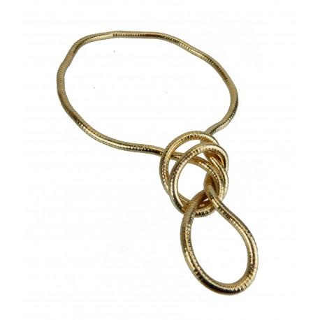 Kette gold formbar biegsam Schlangenkette