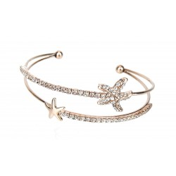 Armband Seestern rose gold