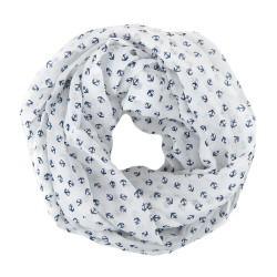 Loop blau weiß