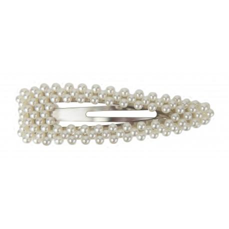 Große Haarklammer Perlen