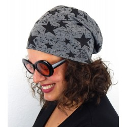 "Long Beanie ""Stars"" in 4 Farben by Ella Jonte"