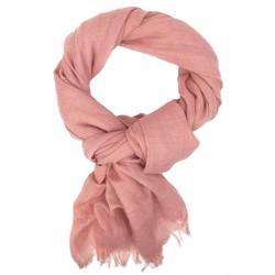 Weicher Damenschal unifarben rosé by Ella Jonte