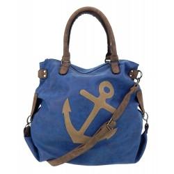 Tasche Anker blau XXL