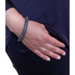 Armband Strass schwarz