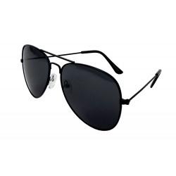 Herren Sonnenbrille schwarz Pilotenbrille Retro