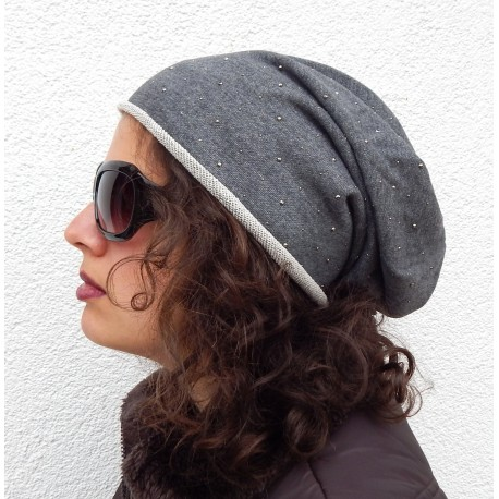 "Long Beanie ""Urban"" in 2 Farben by Ella Jonte"