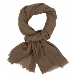 Breiter leichter Damenschal grün Herbst Trend Schal