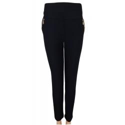 Hose schwarz Damenhose Treggings Leggings Skinny Größe 42 - 48