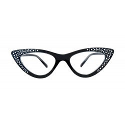 Lesebrille viel Farben Damen Cat Eye Rockabilly Retro Vintage 50er