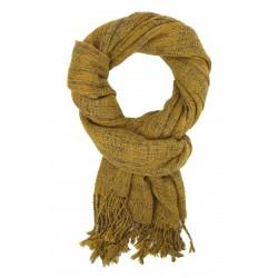Damenschal 3 Farben gelb grau oder rot Schal Herbstschal Winterschal