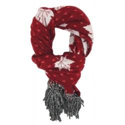 Weicher Damenschal blau oder rot ivory Herbst Winterschal